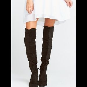 Dolce Vita over the knee boot